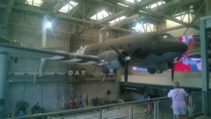 This is a Douglas C-47. It's really big.