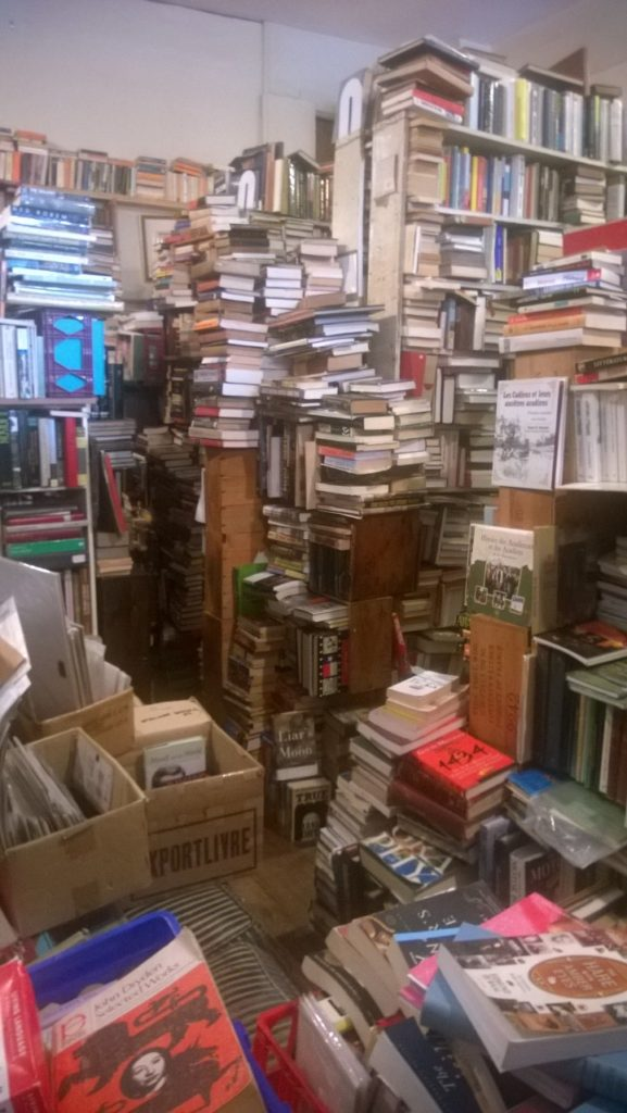 The Arcadian bookstore. This does not begin to capture the horror.